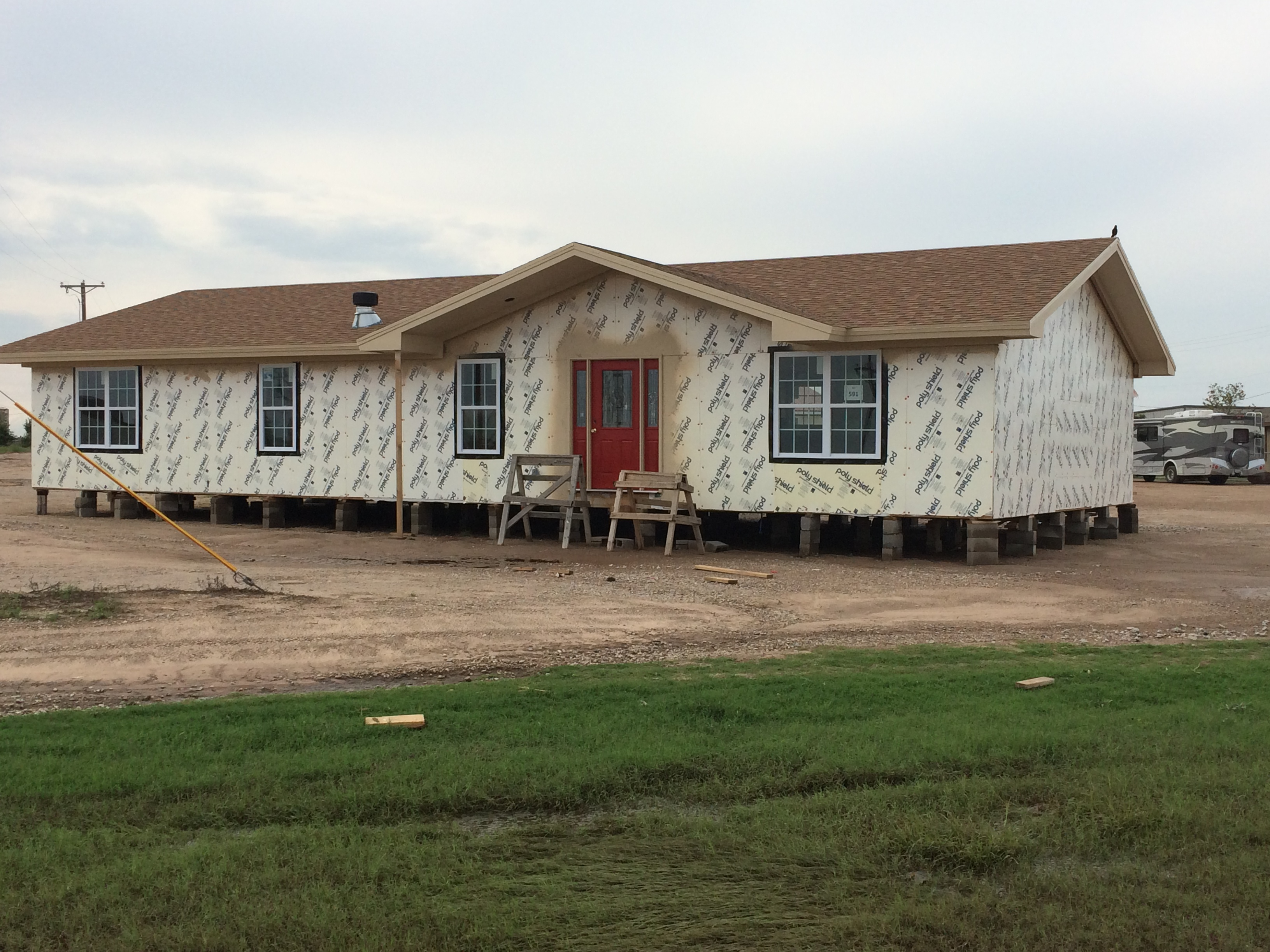 Optional Foam Sheathing