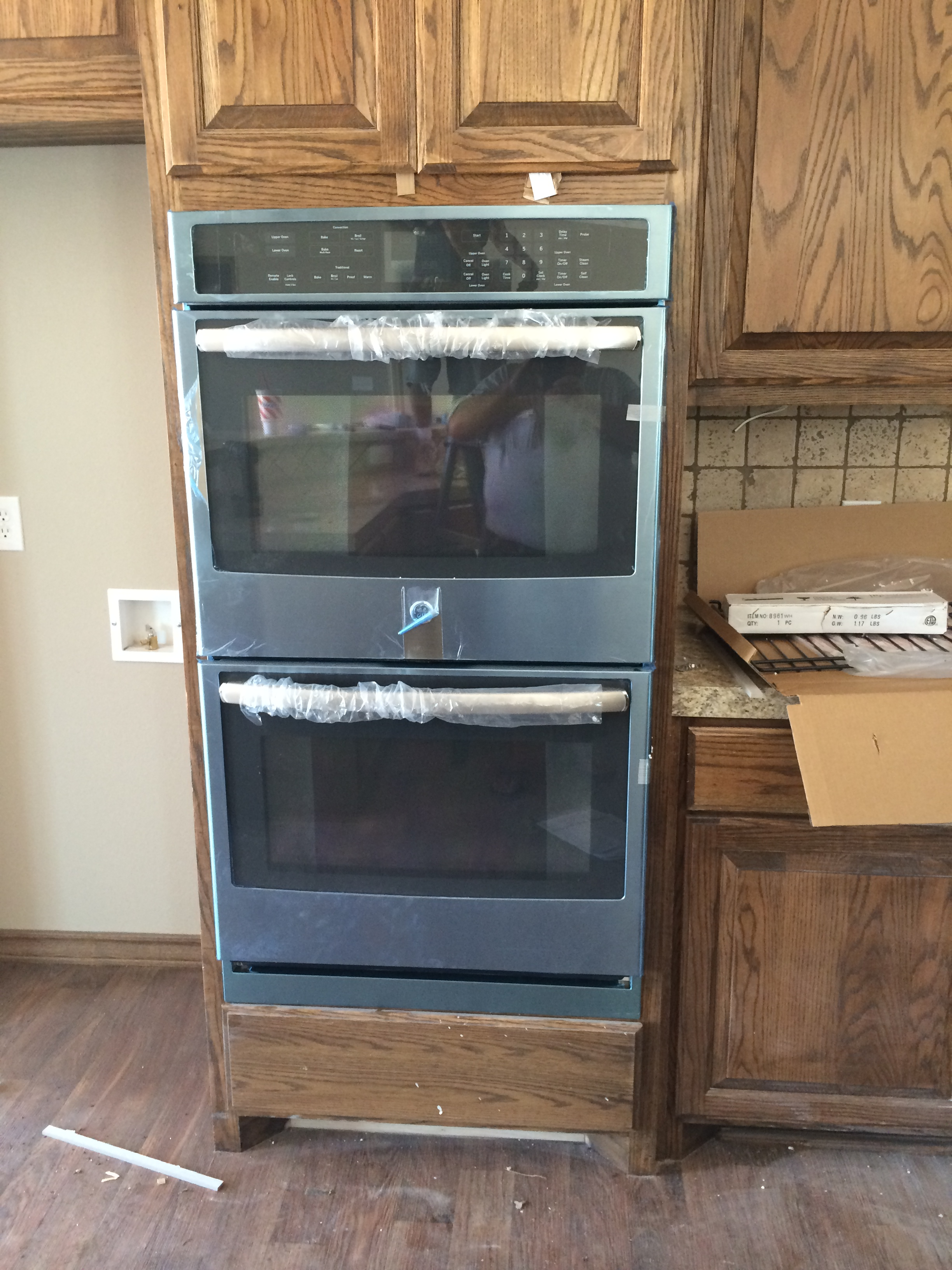 Upgraded Oven