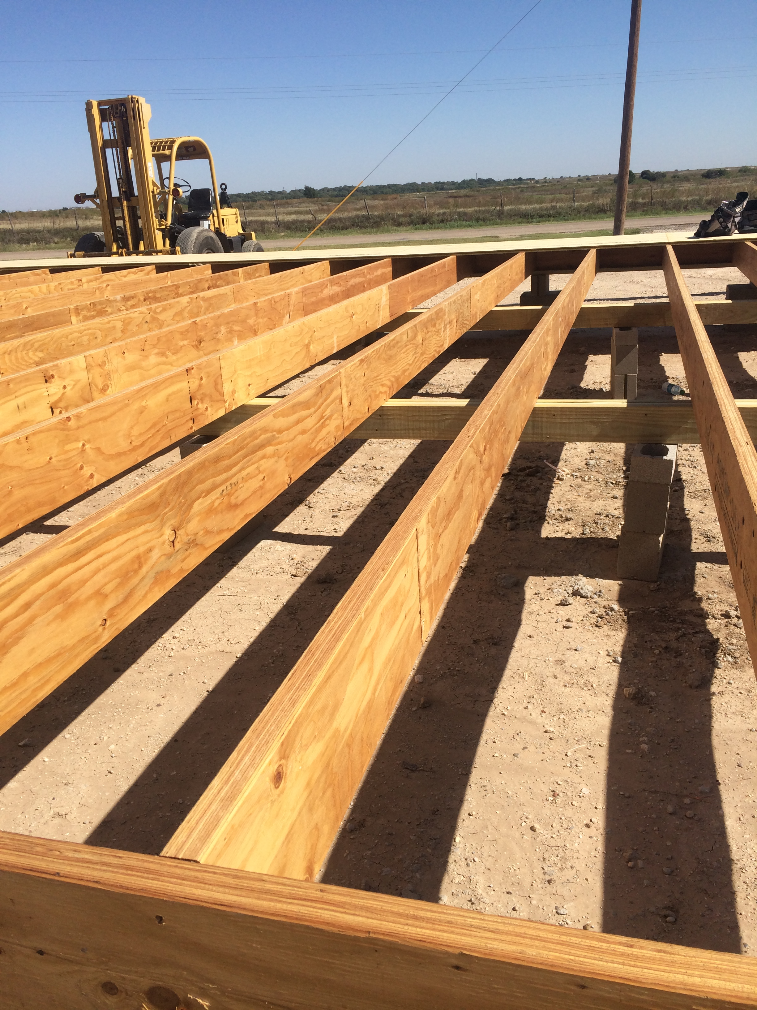 Full Length Joists