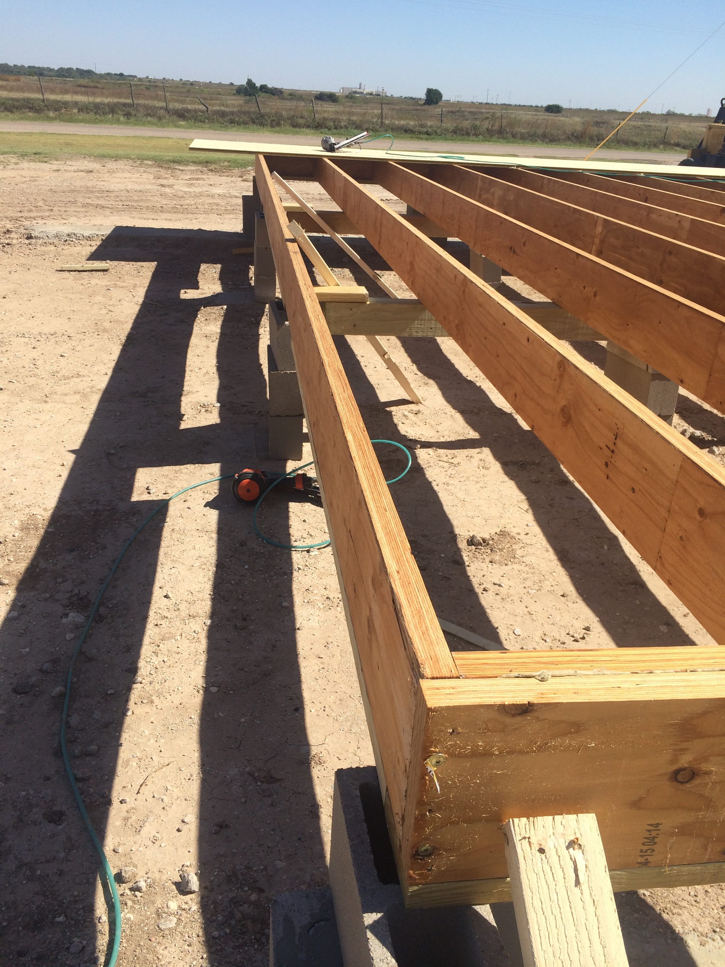 One Piece Floor Joists
