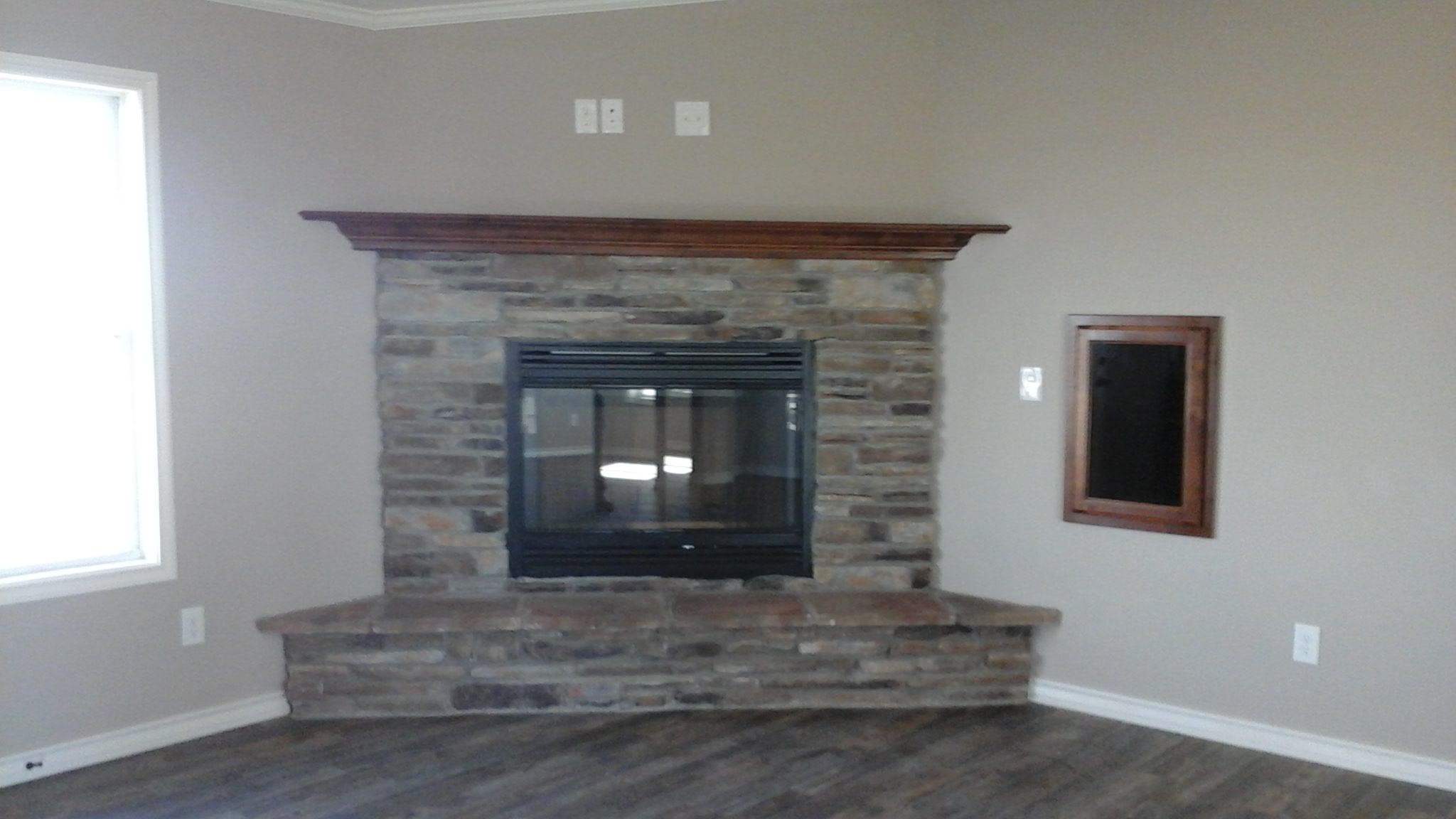 Ledgestone Fireplace