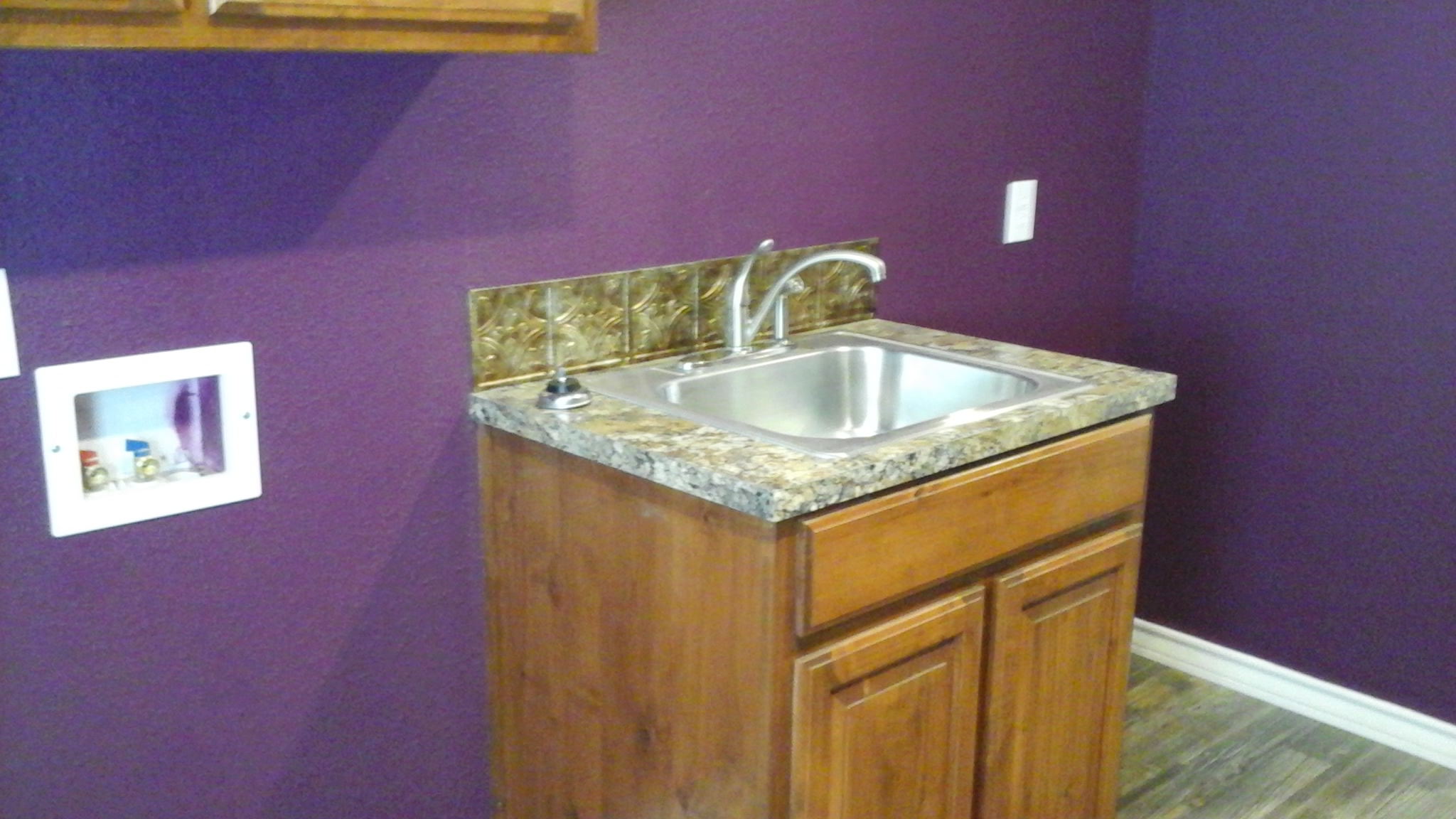 Optional Laundry Rm Sink