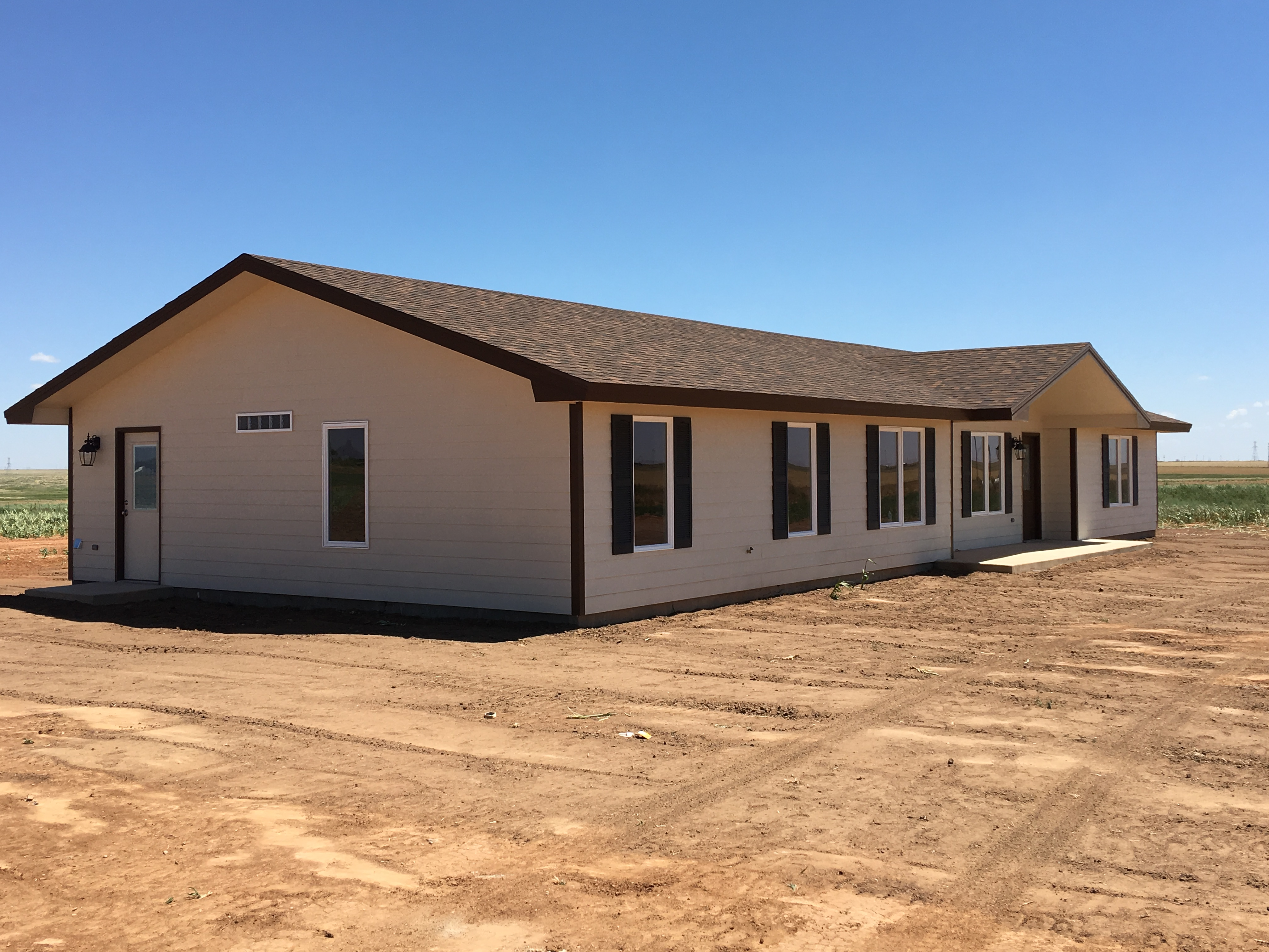 Finished Site Built