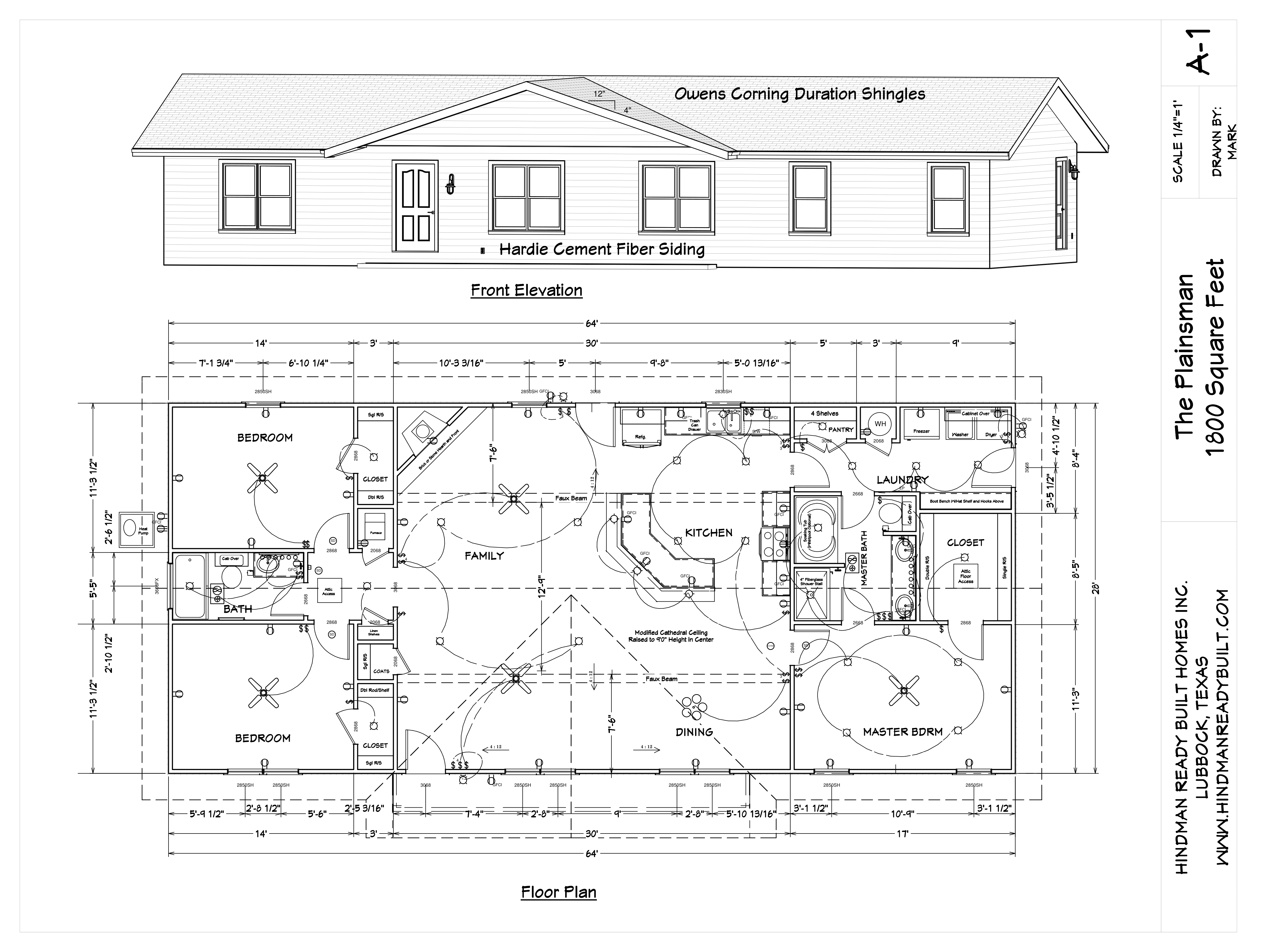 Ready Built Homes Floor Plans