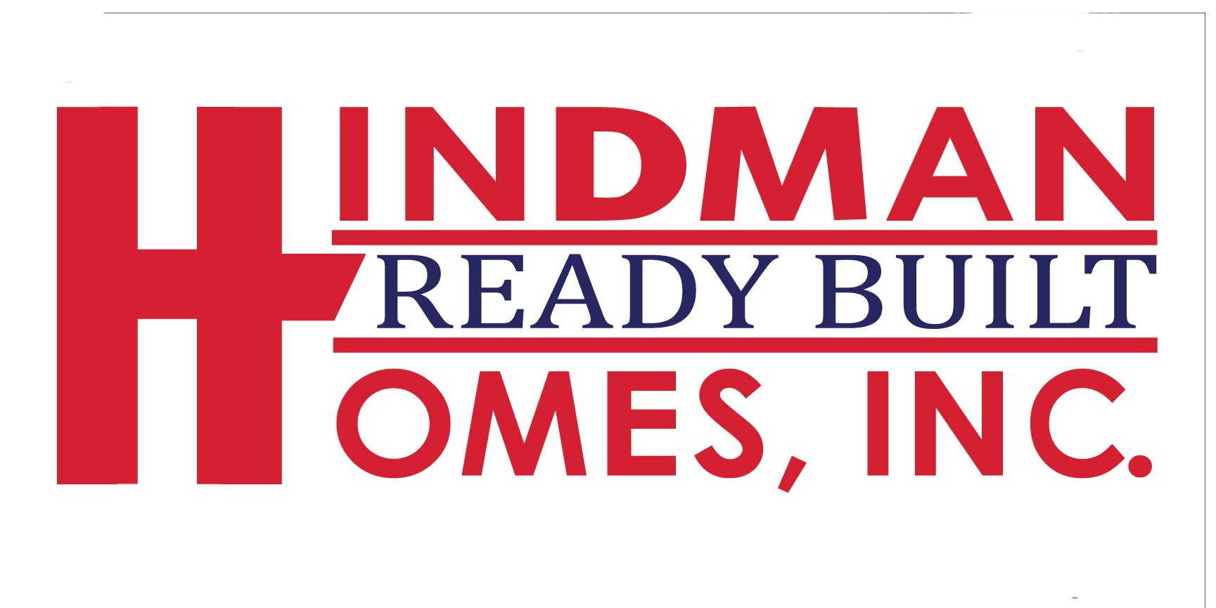 Hindman Ready Built Homes Logo